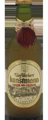 Cerveja Kunstmann Lager sem Filtrar.