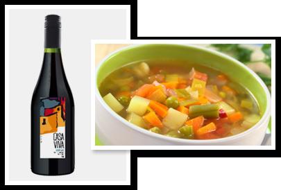 Sopa e Vinho, combinam?