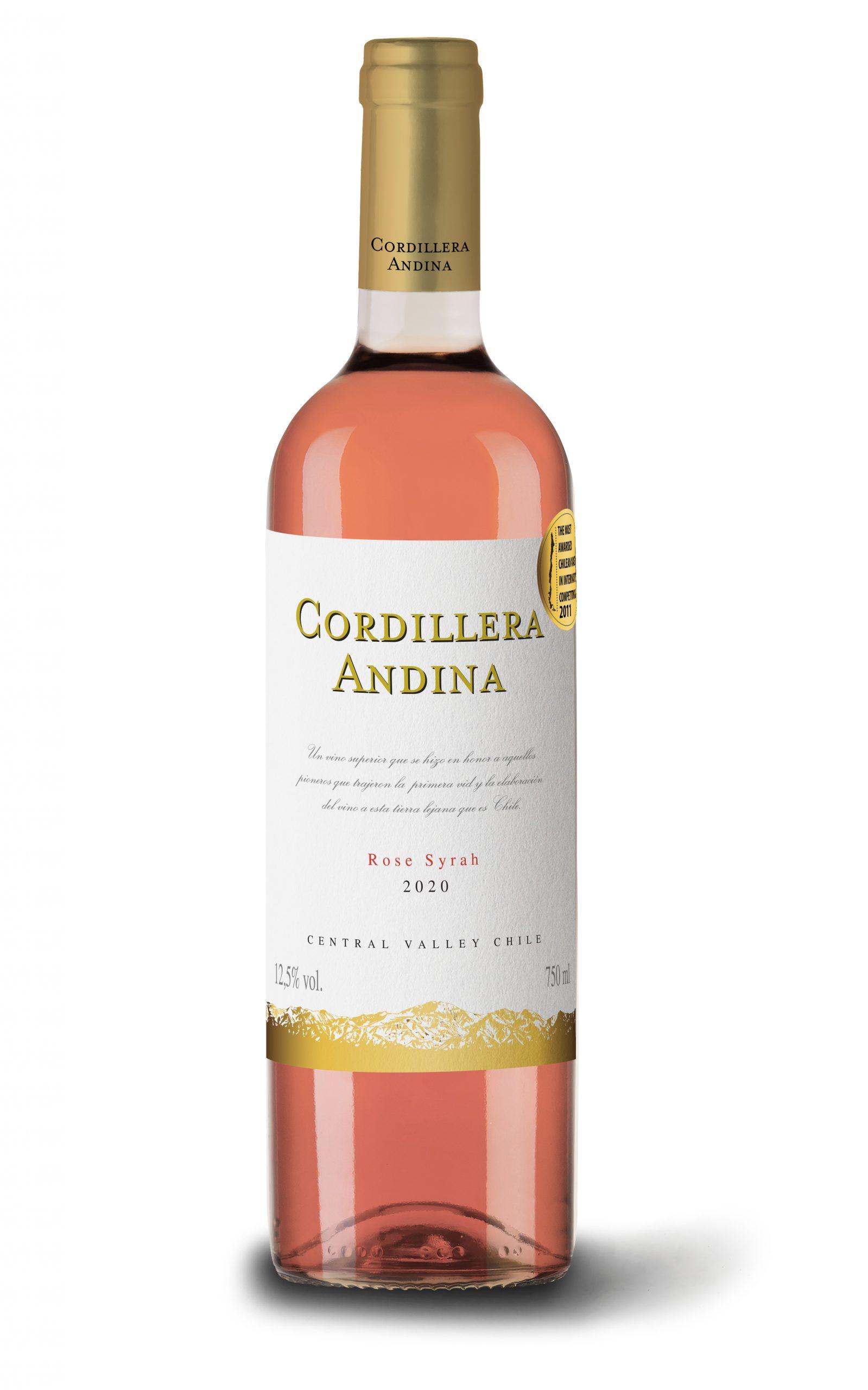 CORDILLERA ANDINA ROSÉ SYRAH