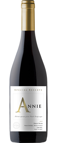ANNIE SPECIAL RESERVE PINOT NOIR