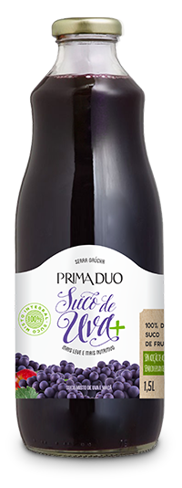 Suco de Uva Prima Duo – 100% integral