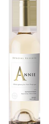 ANNIE SPECIAL RESERVE SAUVIGNON BLANC