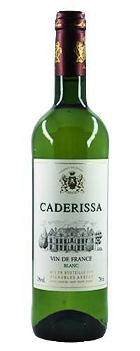 CADERISSA – Vin De France – Blanc